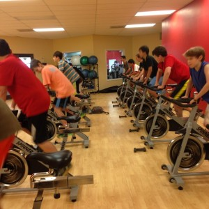 Cherokee Creek Boys School at Spin Class