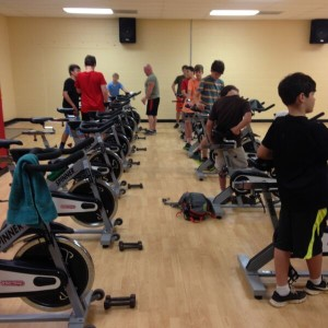 Cherokee Creek Boys School attends Spin Class
