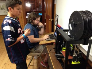 3D Printer at Boys Boarding School