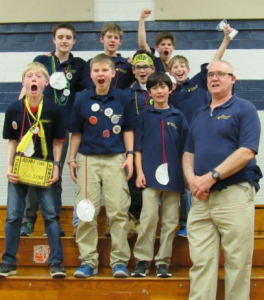 Therapeutic Boarding School goes to Lego League State Competition